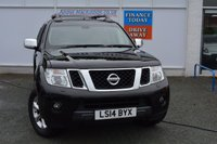 USED 2014 14 NISSAN NAVARA 2.5 DCI TEKNA 4X4 SHR DCB 1d AUTO 188 BHP + VAT.....HIGH SPEC PICKUP WITH LEATHER, NAV, CLIMATE, CRUISE. + FITTED SNUGTOP CANOPY ..READY FOR WORK OR PLAY