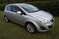 2011 VAUXHALL CORSA 1.4 SE 5d 98 BHP,HALF LEATHER HEATED SEATS,CRUISE,REAR PARK,FSH £5290.00