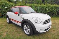 2013 MINI MINI PACEMAN 1.6 COOPER 3d 122 BHP,SAT NAV,HALF LEATHER,HEATED SEATS,FSH £9000.00
