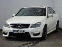 2012 MERCEDES-BENZ C CLASS 6.2 C63 AMG 4d 457 BHP £27688.00