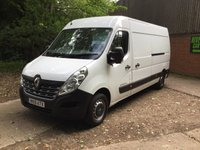USED 2015 15 RENAULT MASTER 2.3 LM35 BUSINESS DCI S/R P/V 1d 125 BHP Long Renault Warranty, Genuine Low Miles,