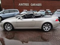 USED 2005 BMW 6 SERIES 4.4 645CI 2d AUTO 329 BHP FULL SERVICE HISTORY NAV