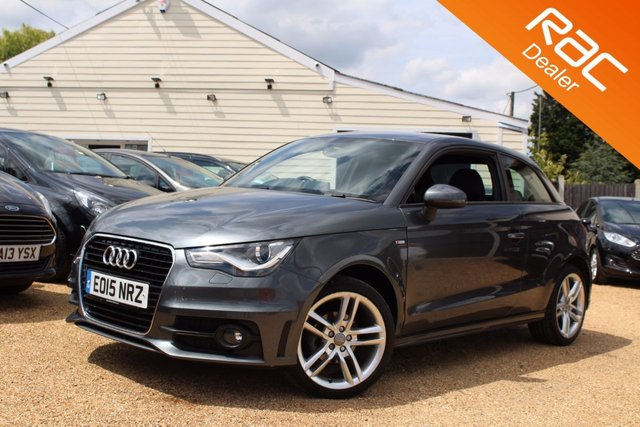 View our 2015 15 AUDI A1 1.2 TFSI S LINE 3d 84 BHP