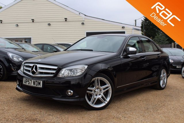 View our 2007 57 MERCEDES-BENZ C CLASS 2.1 C220 CDI SPORT 4d 168 BHP