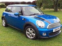 2011 MINI HATCH ONE 1.6 ONE PIMLICO 3d 97 BHP £6990.00