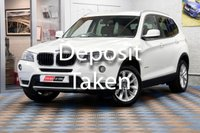 USED 2014 14 BMW X3 2.0 XDRIVE20D SE 5d AUTO 181 BHP One Owner | Full Dealer Service History
