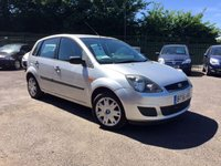 USED 2007 56 FORD FIESTA 1.4 STYLE TDCI 5d PART EXCHANGE TO CLEAR