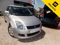 2008 SUZUKI SWIFT 1.5 GLX 5d 100 BHP £2994.00