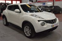 USED 2013 63 NISSAN JUKE 1.6 ACENTA 5d 117 BHP A BEAUTIFUL EXAMPLE WITH LOW MILEAGE.