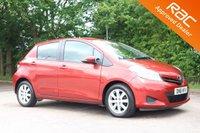 2011 TOYOTA YARIS 1.3 VVT-I TR 5d AUTO 98 BHP £5950.00