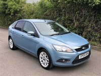 USED 2009 09 FORD FOCUS 1.8 ZETEC 5d 125 BHP, SATELITE NAVIGATION, REAR PARKING SENSORS