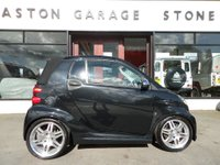 USED 2009 59 SMART FORTWO CABRIO BRABUS SMART FORTWO 1.0 CABRIOLET ** LOW MILEAGE ** ** FSH * SAT NAV * HEATED LEATHER **