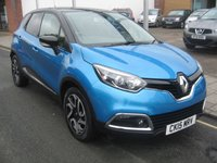 USED 2015 15 RENAULT CAPTUR 1.5 DYNAMIQUE S MEDIANAV ENERGY DCI S/S 5d 90 BHP only 8659 miles, zero road tax , sat nav, service history.