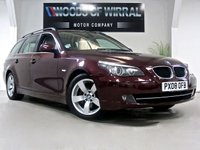USED 2008 08 BMW 5 SERIES 2.0 520D SE TOURING 5d AUTO 175 BHP