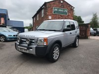 USED 2007 07 LAND ROVER DISCOVERY 2.7 3 TDV6 GS 5d 188 BHP This vehicle comes fully serviced, with a 6 MONTHS renewable warranty,12 Months M.O.T, Fully prepared ready for 12 months hassle free motoring