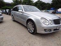 2007 MERCEDES-BENZ E CLASS 3.0 E320 CDI SPORT 5d AUTO 222 BHP £3995.00