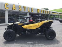 USED 2017 17 CAN-AM MAVERICK X3 XDS TURBO ROAD LEGAL List £28,900 road legal SxS buggy with 0-60 in 4.9 seconds