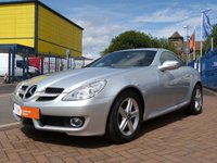 "USED 2008 58 MERCEDES-BENZ SLK 1.8 SLK200 KOMPRESSOR 2d AUTO HEATED LEATHER ~ AIRSCARF NECK LEVEL HEATING ~ BLUETOOTH ~ 17"" ALLOYS ~ £4,000 OPTIONS"