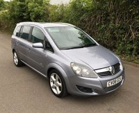 USED 2008 08 VAUXHALL ZAFIRA 1.9 SRI CDTI 5d 150 BHP, EXTREMELY GOOD CONDITION, PARROT BLUETOOTH