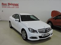 USED 2014 14 MERCEDES-BENZ C CLASS 2.1 C220 CDI BLUEEFFICIENCY EXECUTIVE SE 2d AUTO 168 BHP