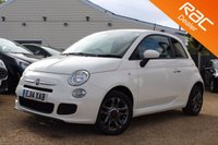 USED 2014 14 FIAT 500 1.2 S 3d 69 BHP Blue & me, 6 months warranty & more