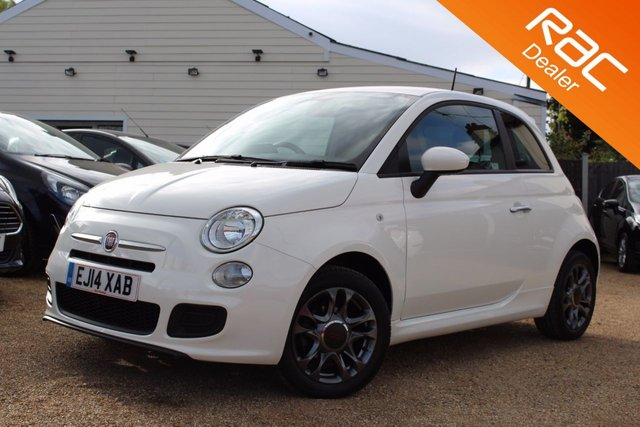 View our 2014 14 FIAT 500 1.2 S 3d 69 BHP