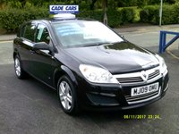 2009 VAUXHALL ASTRA 1.4 ACTIVE 16V TWINPORT 5d 90 BHP £3495.00