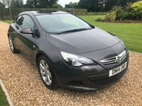 USED 2014 14 VAUXHALL ASTRA 1.4 GTC SPORT S/S 3d 138 BHP CRUISE