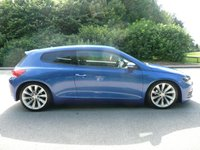 "USED 2012 12 VOLKSWAGEN SCIROCCO 1.4 TSI 3d 121 BHP 2 Owners, 18"" Alloy Wheels, Good History, March 18 MOT"