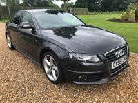 USED 2008 58 AUDI A4 1.8 TFSI S LINE 4d 158 BHP 1/2 LEATHER