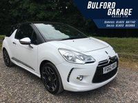 2012 CITROEN DS3 1.6 THP DSPORT PLUS 3d 156 BHP £6975.00