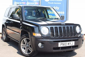 2010 JEEP PATRIOT 2.0 LIMITED CRD 5d 139 BHP £SOLD