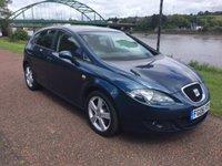 2006 SEAT LEON 2.0 SPORT TDI 5d 138 BHP £2600.00