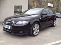 USED 2008 08 AUDI A3 2.0 TDI S LINE 3d 138 BHP *LOW MILEAGE**STUNNING**MOT & SERVICE INCLUDED*