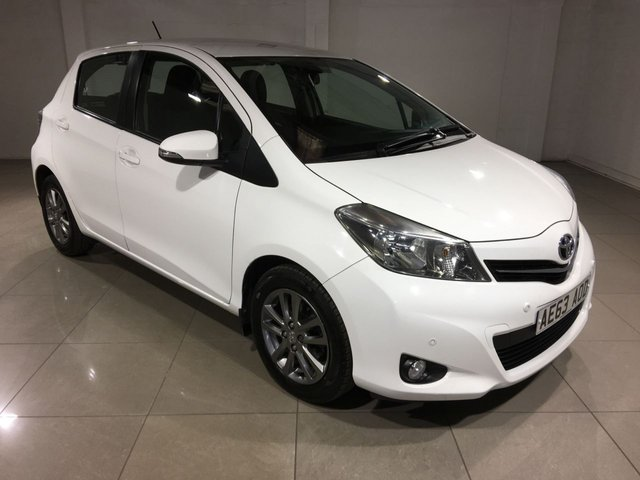 View our 2014 63 TOYOTA YARIS 1.3 VVT-I ICON PLUS 5d 99 BHP