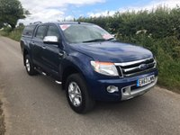 USED 2013 63 FORD RANGER LIMITED 4X4 DCB TDCI