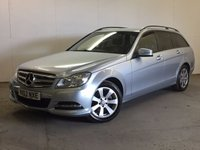 USED 2012 62 MERCEDES-BENZ C CLASS 2.1 C220 CDI BLUEEFFICIENCY EXECUTIVE SE 5d AUTO 168 BHP SAT NAV LEATHER  NOW SOLD.