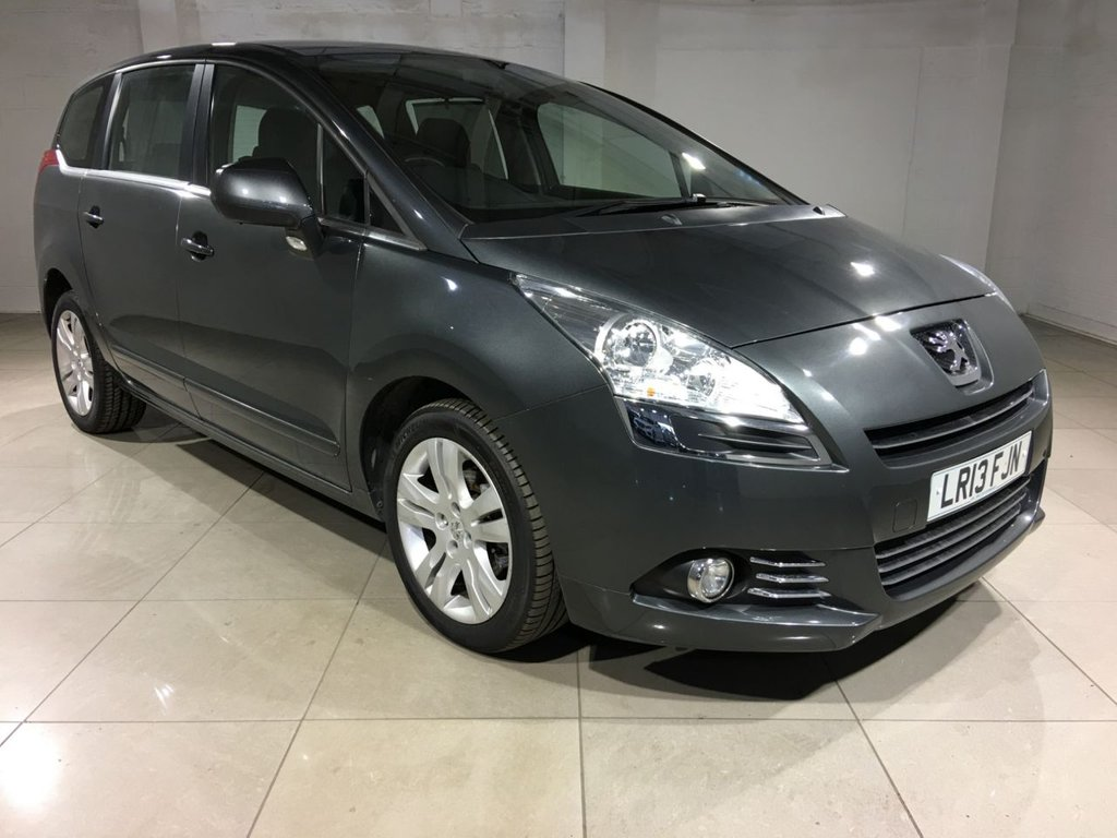 USED 2013 13 PEUGEOT 5008 1.6 HDi FAP Active 5dr 7 Seats / Bluetooth / AC