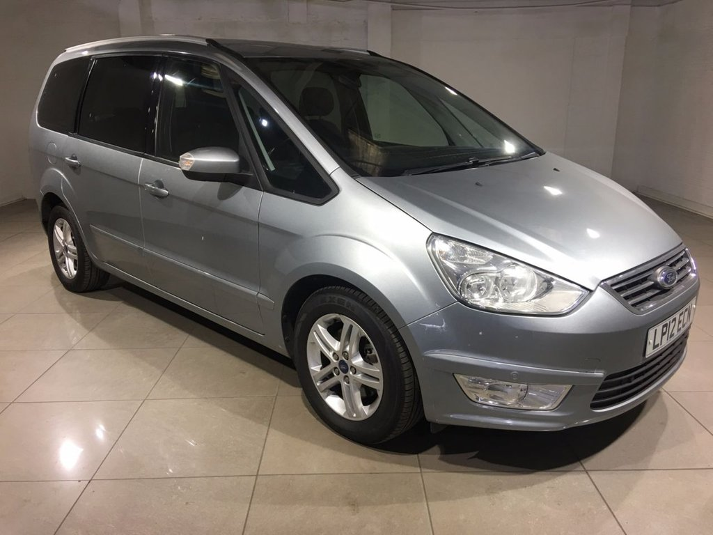 USED 2012 12 FORD GALAXY 2.0 TDCi Zetec 5dr One Owner From New