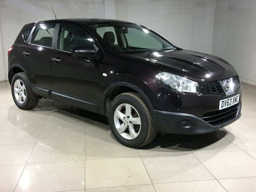 USED 2013 63 NISSAN QASHQAI 1.5 dCi Visia 5dr Air Con / Great MPG