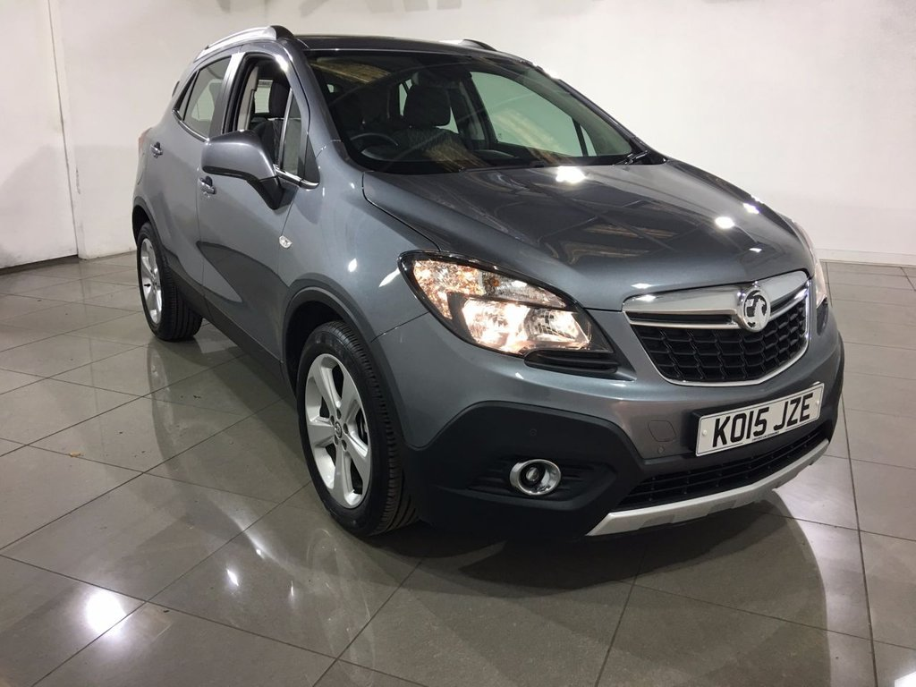 USED 2015 15 VAUXHALL MOKKA 1.6 CDTi ecoFLEX Exclusiv 5dr (start/stop) 1 OWNER / CRUISE CONTROL / AC