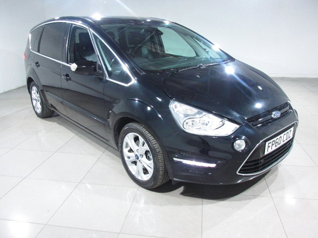 USED 2010 60 FORD S-MAX 2.0 TDCi Titanium Powershift 5dr Panoramic Roof/Leather/DVD