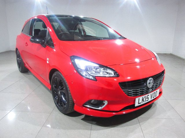 View our 2015 15 VAUXHALL CORSA 1.4 i Limited Edition 3dr