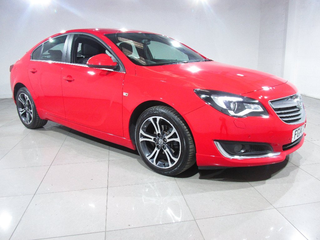 USED 2014 14 VAUXHALL INSIGNIA 2.0 CDTi Limited Edition 5dr 1 Owner/Bi-Colour Alloy Wheels