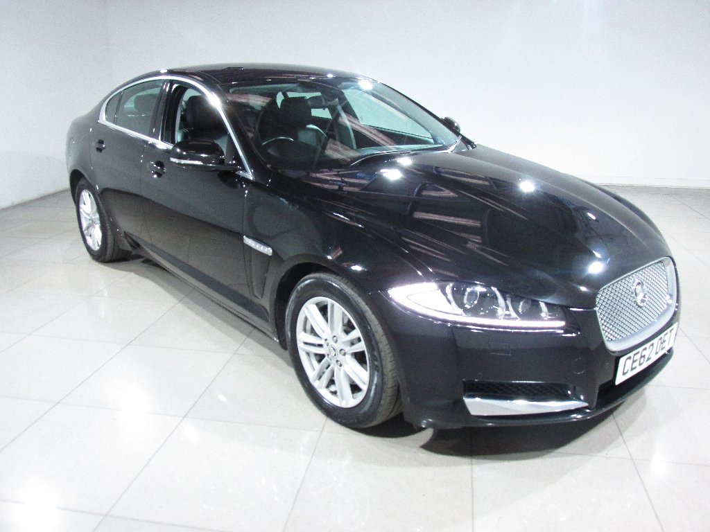 USED 2012 62 JAGUAR XF 2.2 TD Luxury 4dr Nav/Leather/1 Owner From New