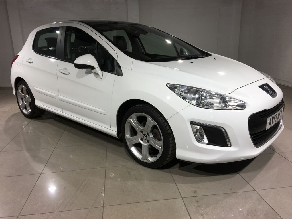 USED 2013 13 PEUGEOT 308 1.6 e-HDi Allure 5dr (start/stop) Panoramic Glass Roof