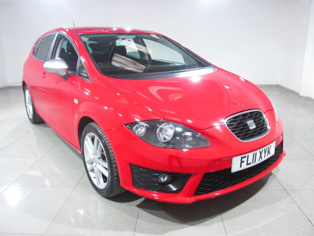 USED 2011 11 SEAT LEON 2.0 TDI CR FR 5dr Cruise Control/Parking Sensors