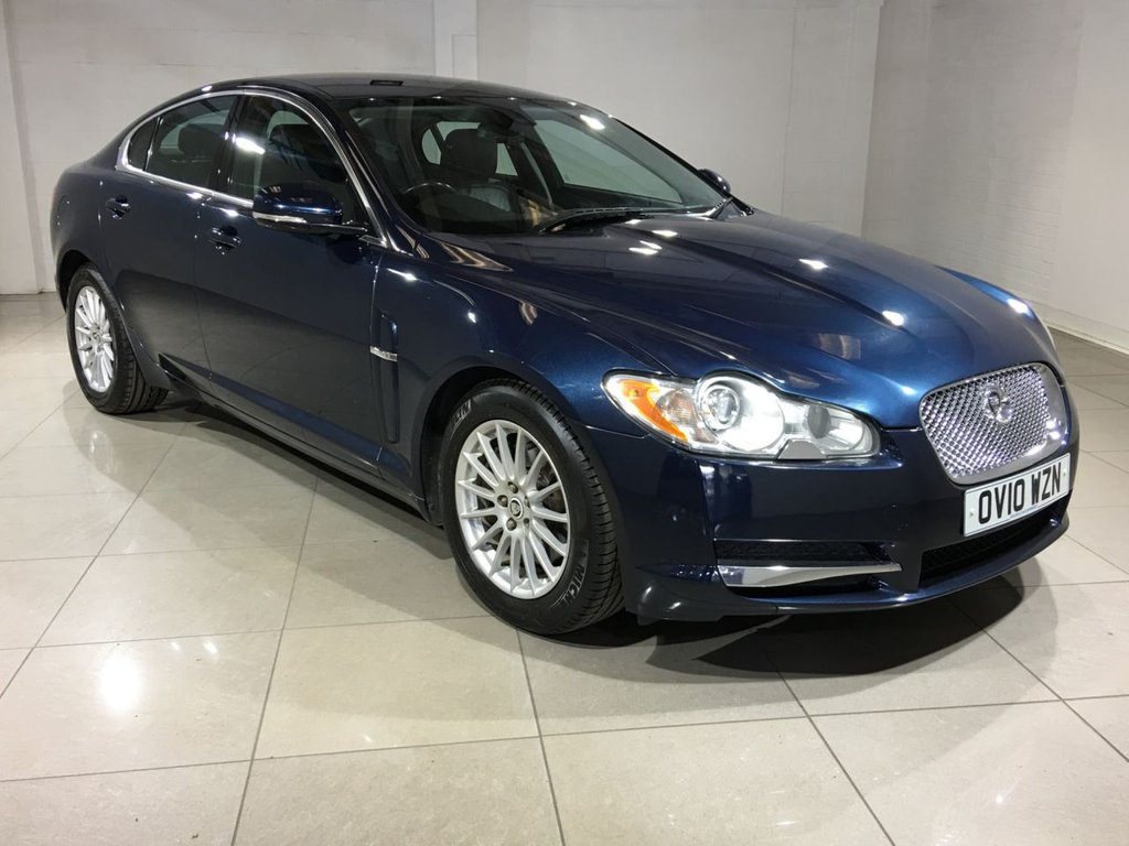 USED 2010 10 JAGUAR XF 3.0 V6 Luxury 4dr Sat Nav / Leather / Bluetooth