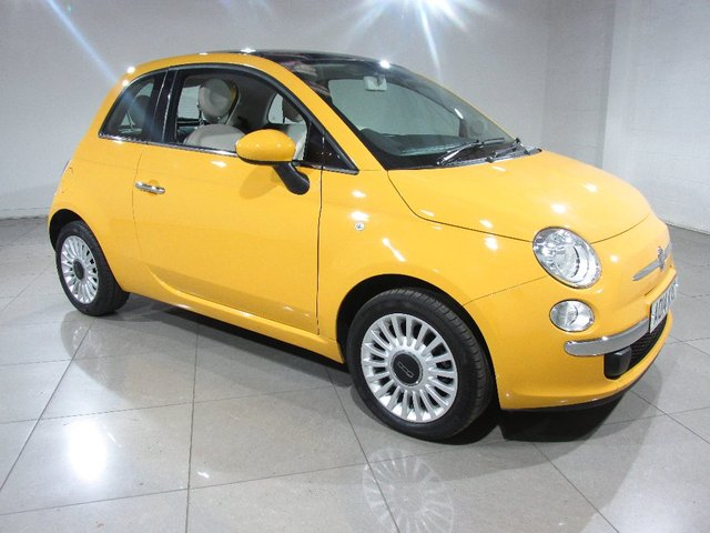 View our 2014 14 FIAT 500 1.2 Lounge 3dr