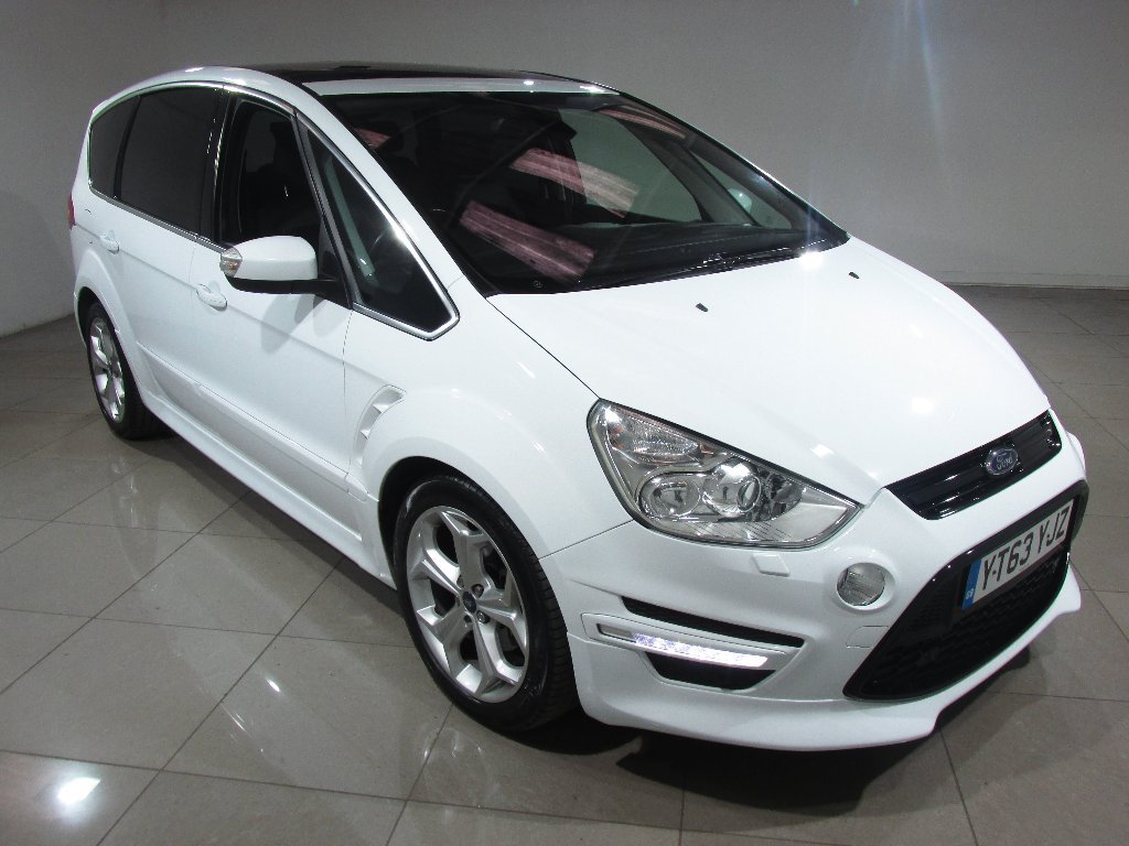 USED 2013 63 FORD S-MAX 2.0 TDCi Titanium X Sport Powershift 5dr Panoramic Glass Roof/1 Owner